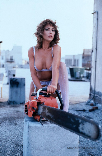 Sorry, that chainsaw to her pussy
