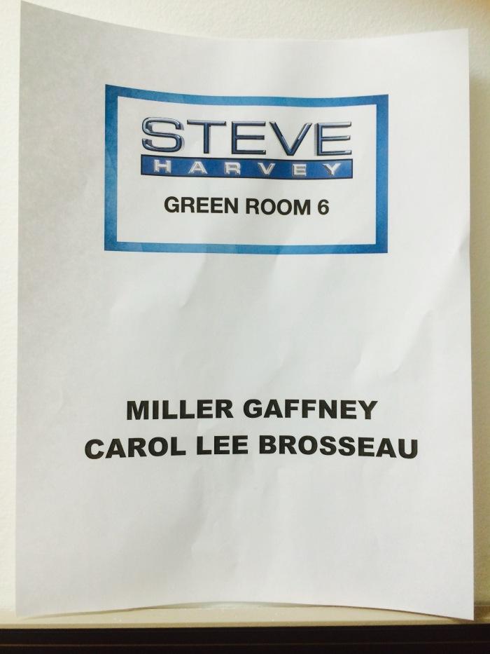 Steve Harvey show behind-the-scenes