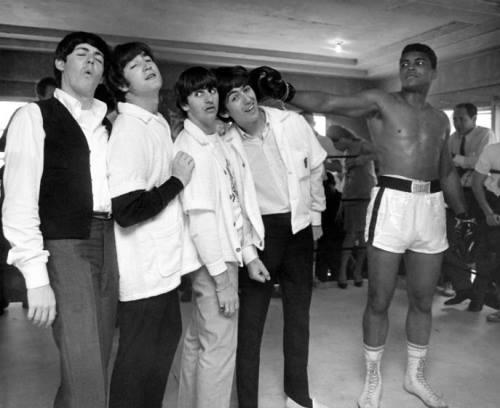 The Beatles Muhammad Ali