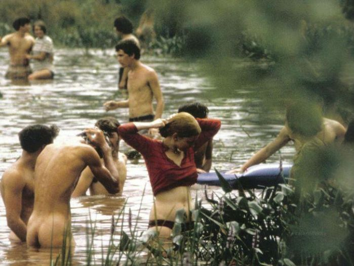 Woodstock nudity