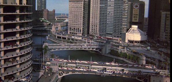 best chicago movie stunts