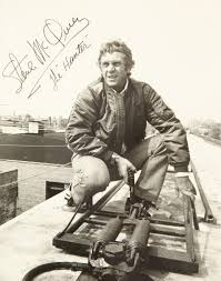 iconic Hollywood Steve McQueen