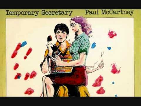 Paul McCartney Temporary Secretary