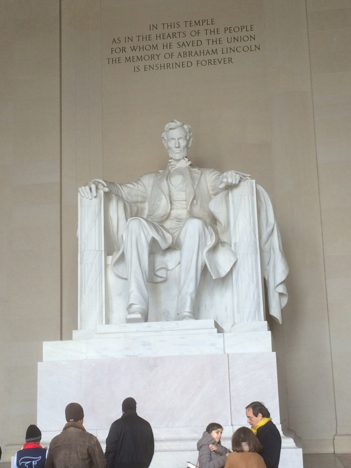 The Lincoln Memorial Washington DC