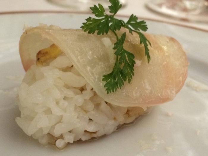 Beet Sushi at L'Arpege