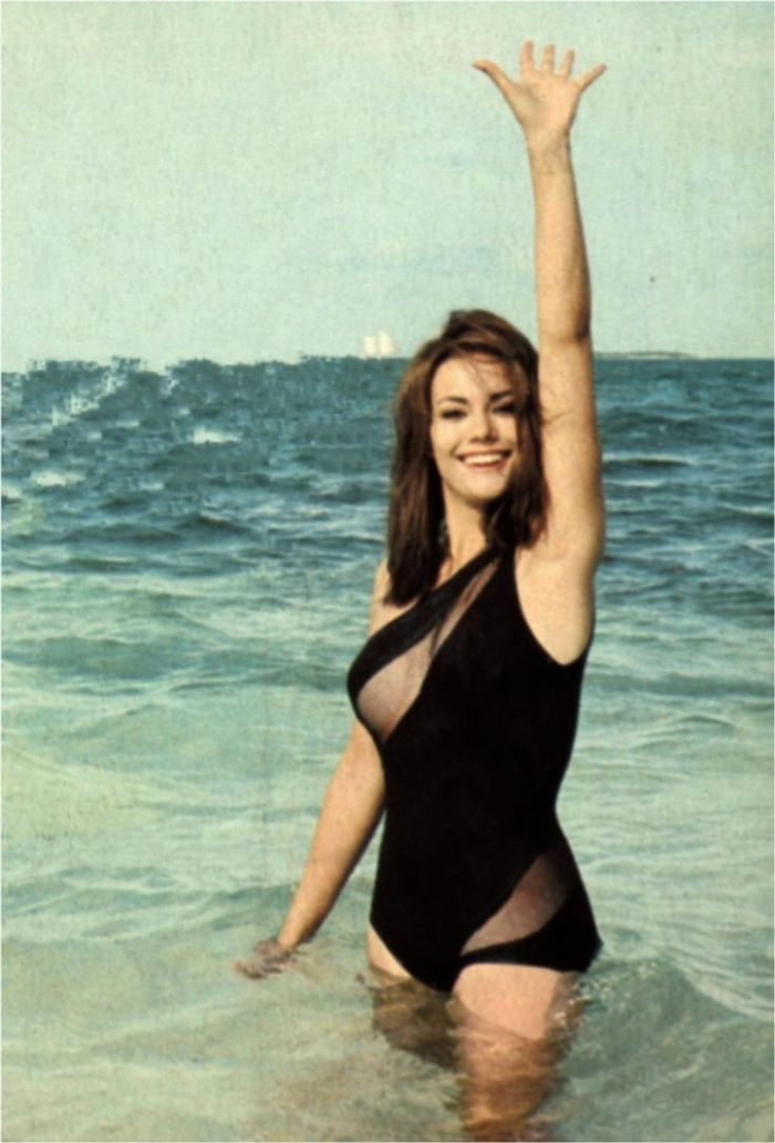 Bond girl Claudine Auger