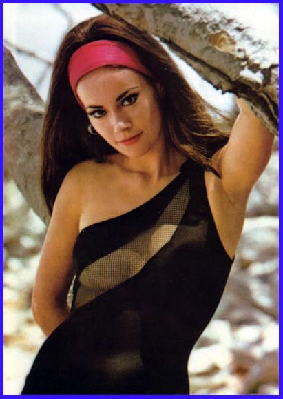 Claudine Auger Bond girl