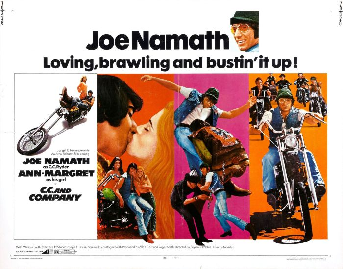 Joe Namath movie CC and Company
