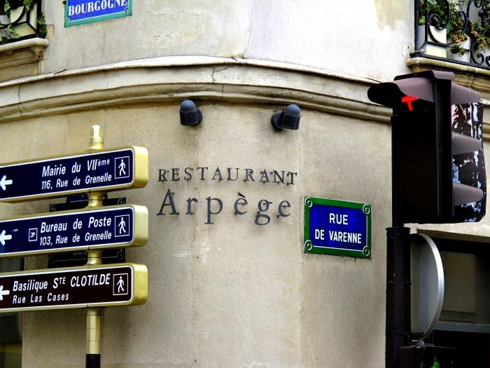 L'Arpege Paris restaurant review