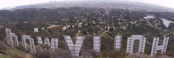 legendary hollywood sign
