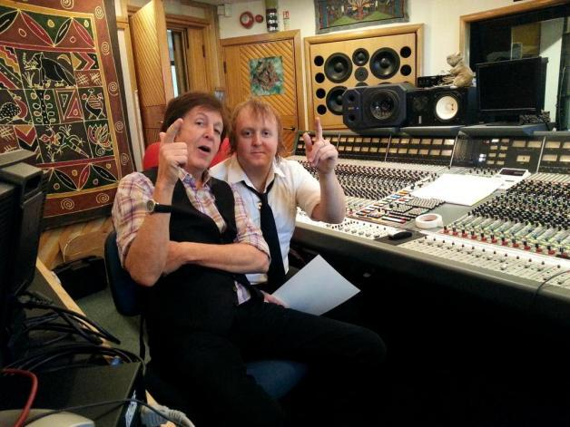 Paul and James Macca