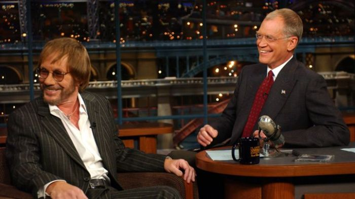 Warren Zevon DAvid Letterman last performance