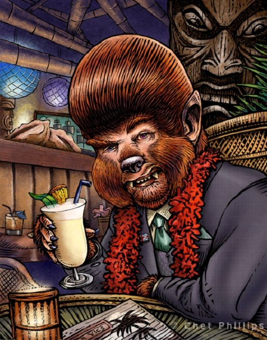 Werewolves of London Trader Vics