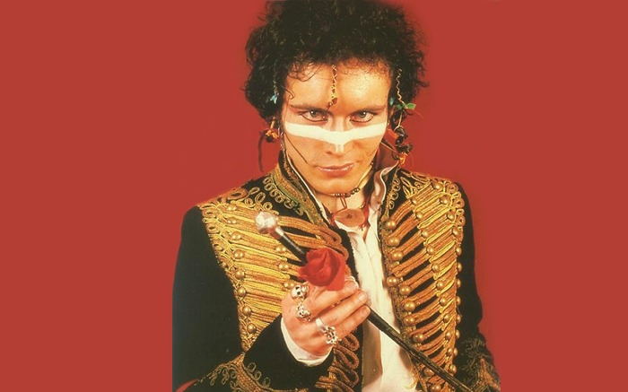 adam ant music of the 80's