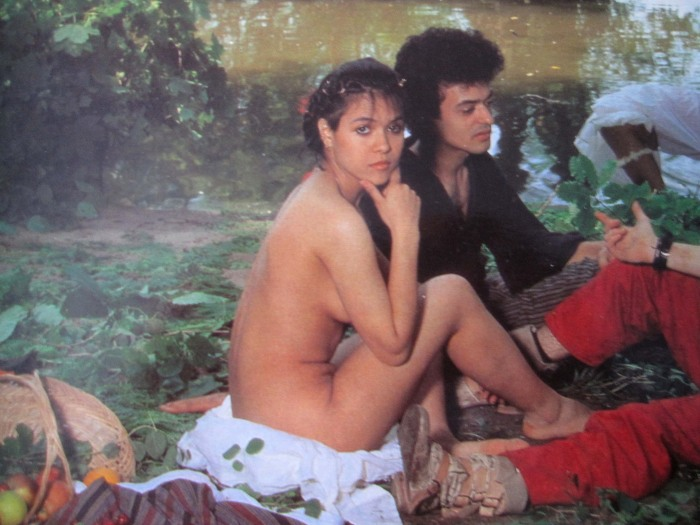 Annabella Lwin nude album cover bow wow wow