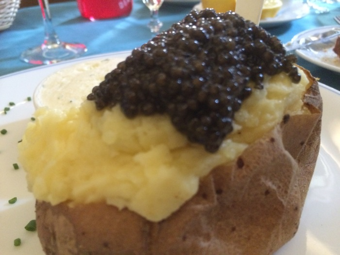 best caviar potato recipes