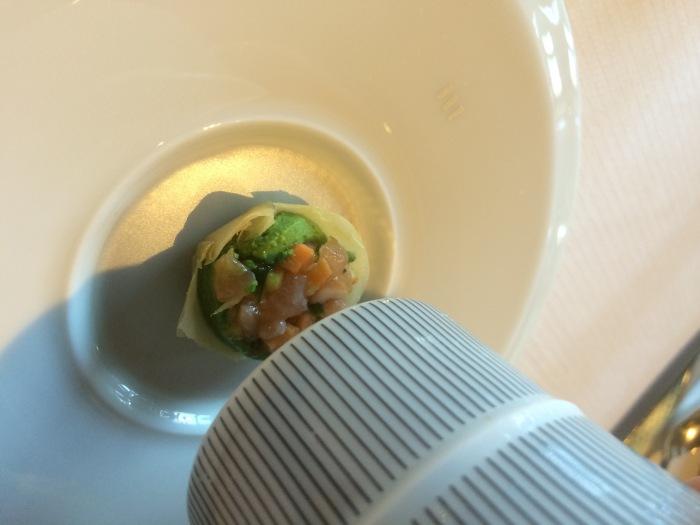 best soup Paris Michelin star