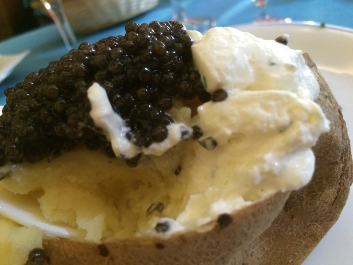 caviar baked potato recipe