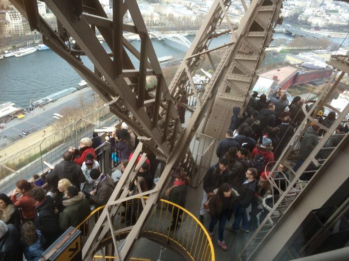 Eiffel Tower observation deck
