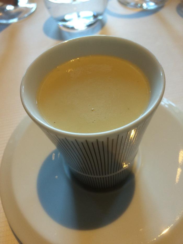 Guy Savoy leek soup