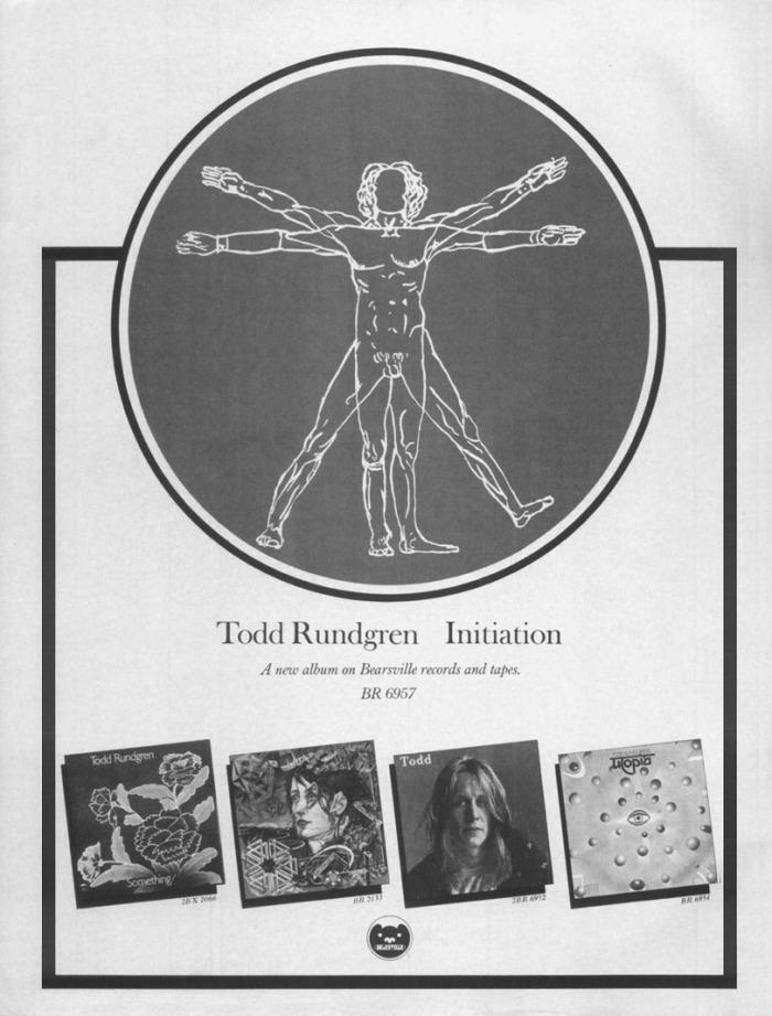 Initiation Todd Rundgren album