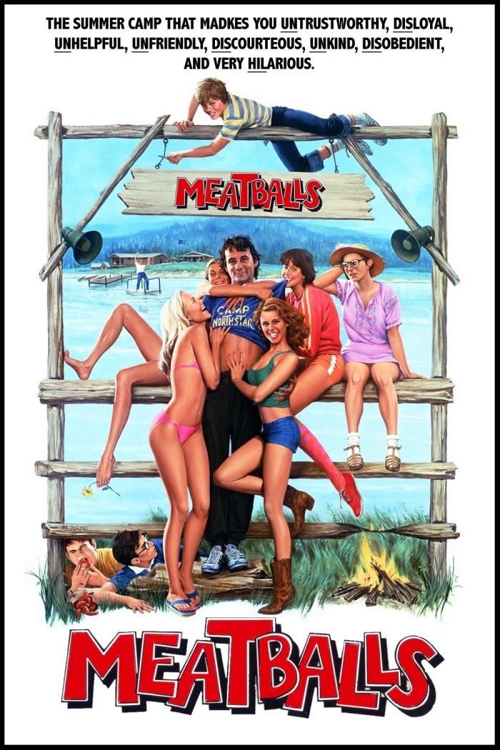 meatballs movie bill murray kristine debell