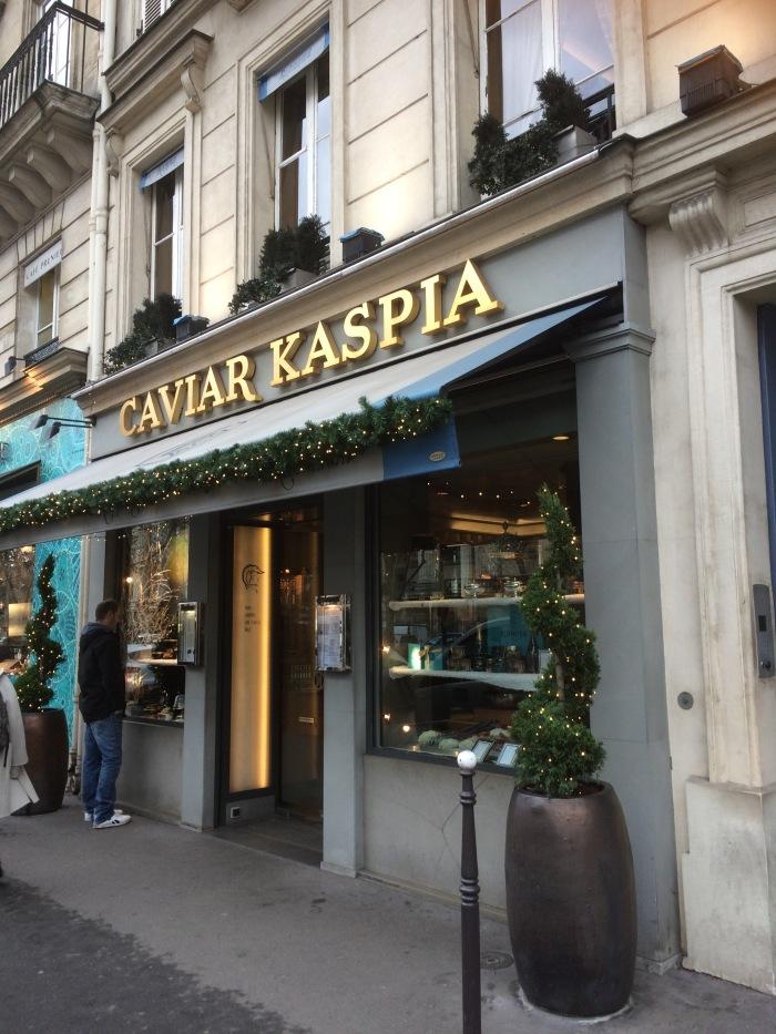 Paris Kaspar Caviar Restaurant