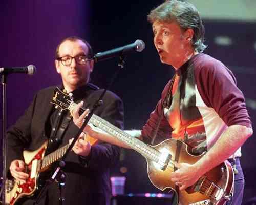 Paul McCartney Elvis Costello songs