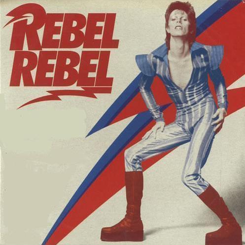 RIP David Bowie Rebel Rebel