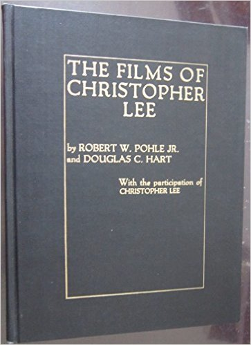 the films of christopher lee book