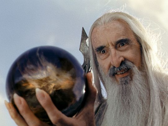 The Lord Of The Rings Christopher Lee