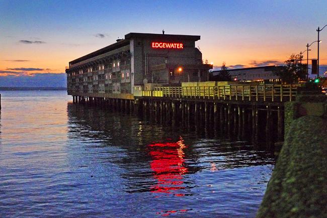 Edgewater-hotel Seattle The Beatles