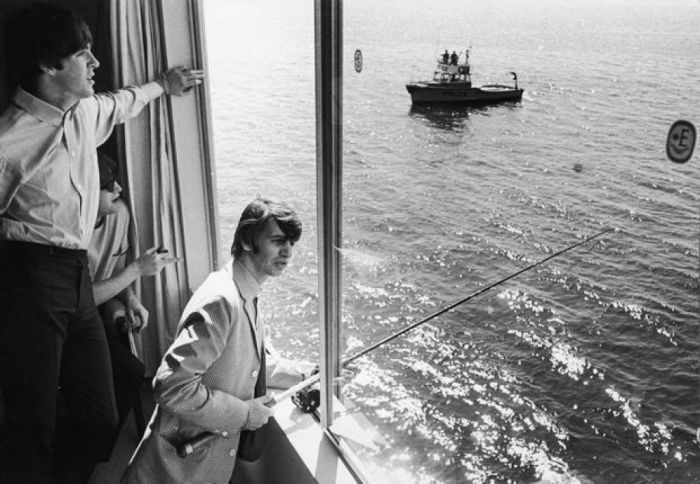 Edgewater Hotel The Beatles fishing