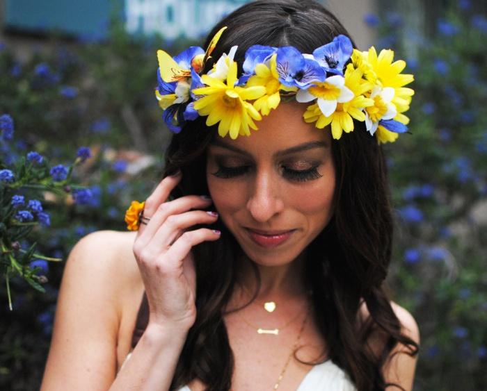 Hippie flower power 60's