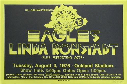 Linda Ronstadt and the eagles