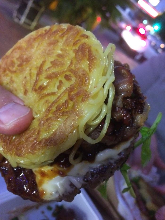 Ramen burger recipes LA
