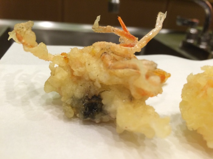 Tempura Endo Scampi head recipe