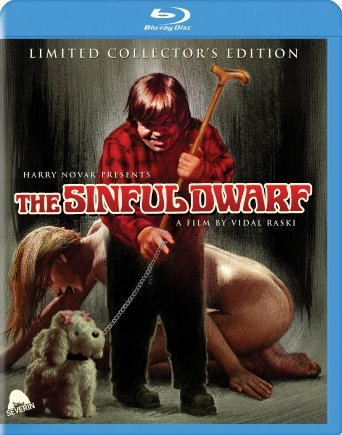 The Sinful Dwarf blu-ray