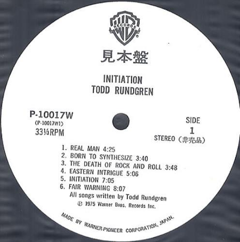 Todd+Rundgren+Initiation