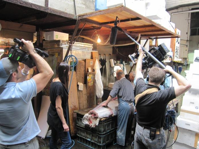 tokyo how you film a fish cut