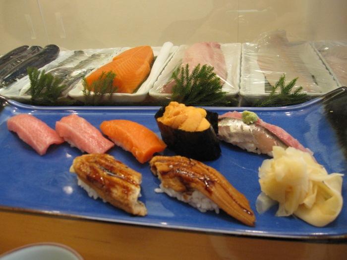 tokyo Sushi Breakfast