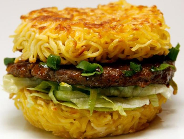 unique ramen-burger