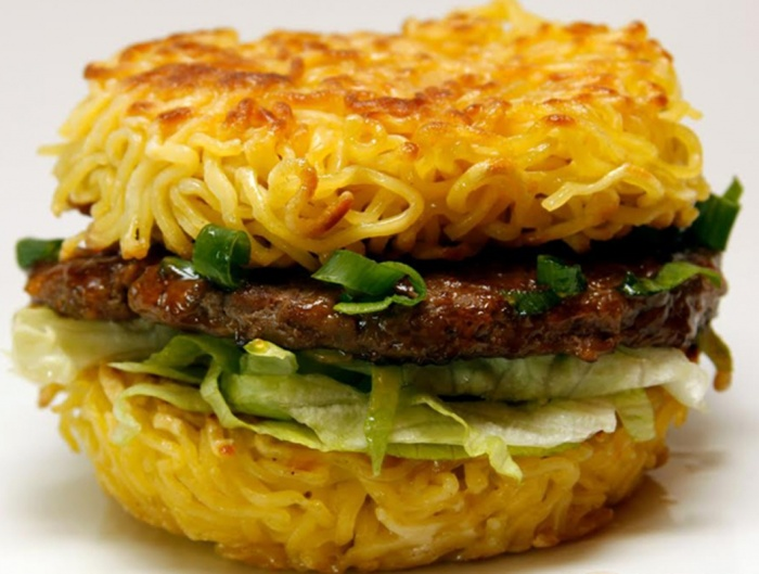 unique ramen-burger