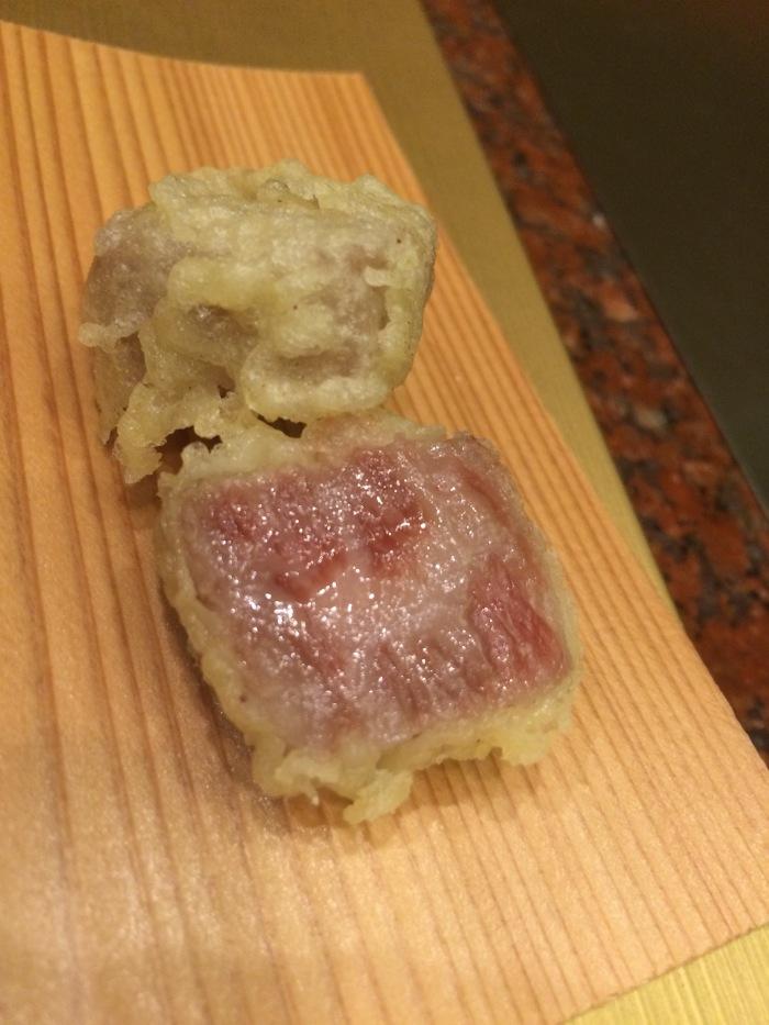 Wagyu tempura beverly hills