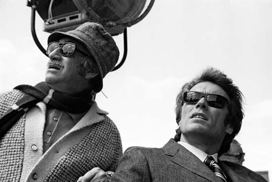 Clint Eastwood and Don Siegel