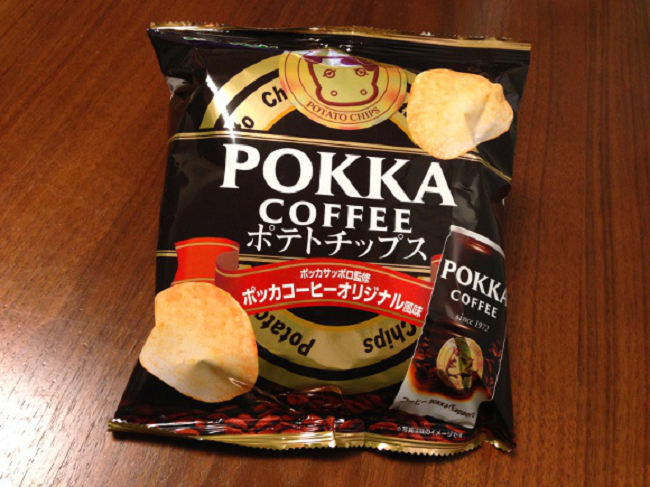 coffee potato chips
