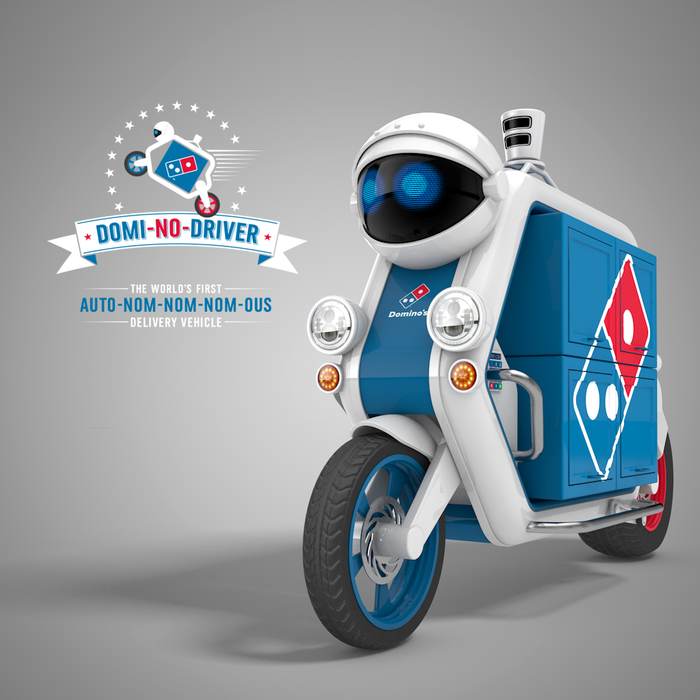 Domino Pizza Delivery Robot