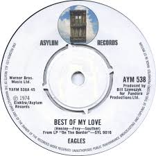 eagles best of my love single