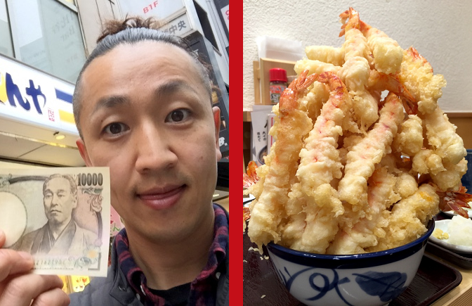 giant fried shrimp bowl rocketnews24