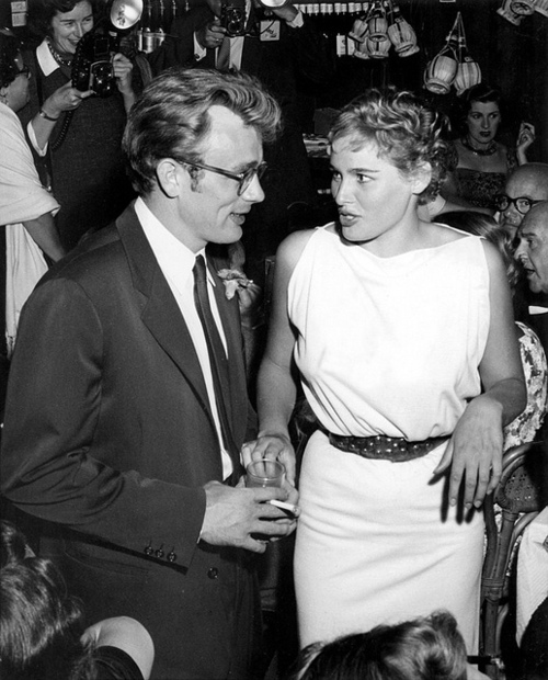 James-Dean-and-Ursula-Andress-at-Frank-Sinatra-s-Shin-Dig-james-dean